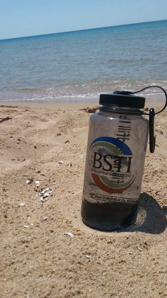 Plastic Free July Challenge 2017 - BSTI bottle Corfu, Greece