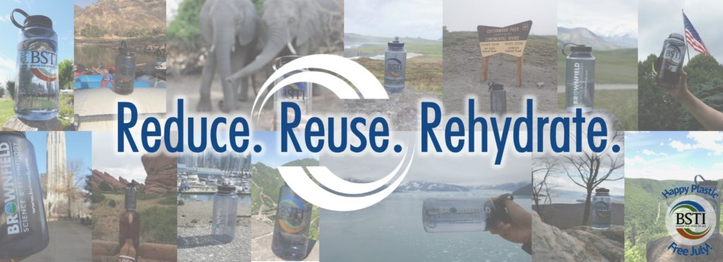 Plastic Free July Challenge 2017 - Reduce Reuse Rehydrate
